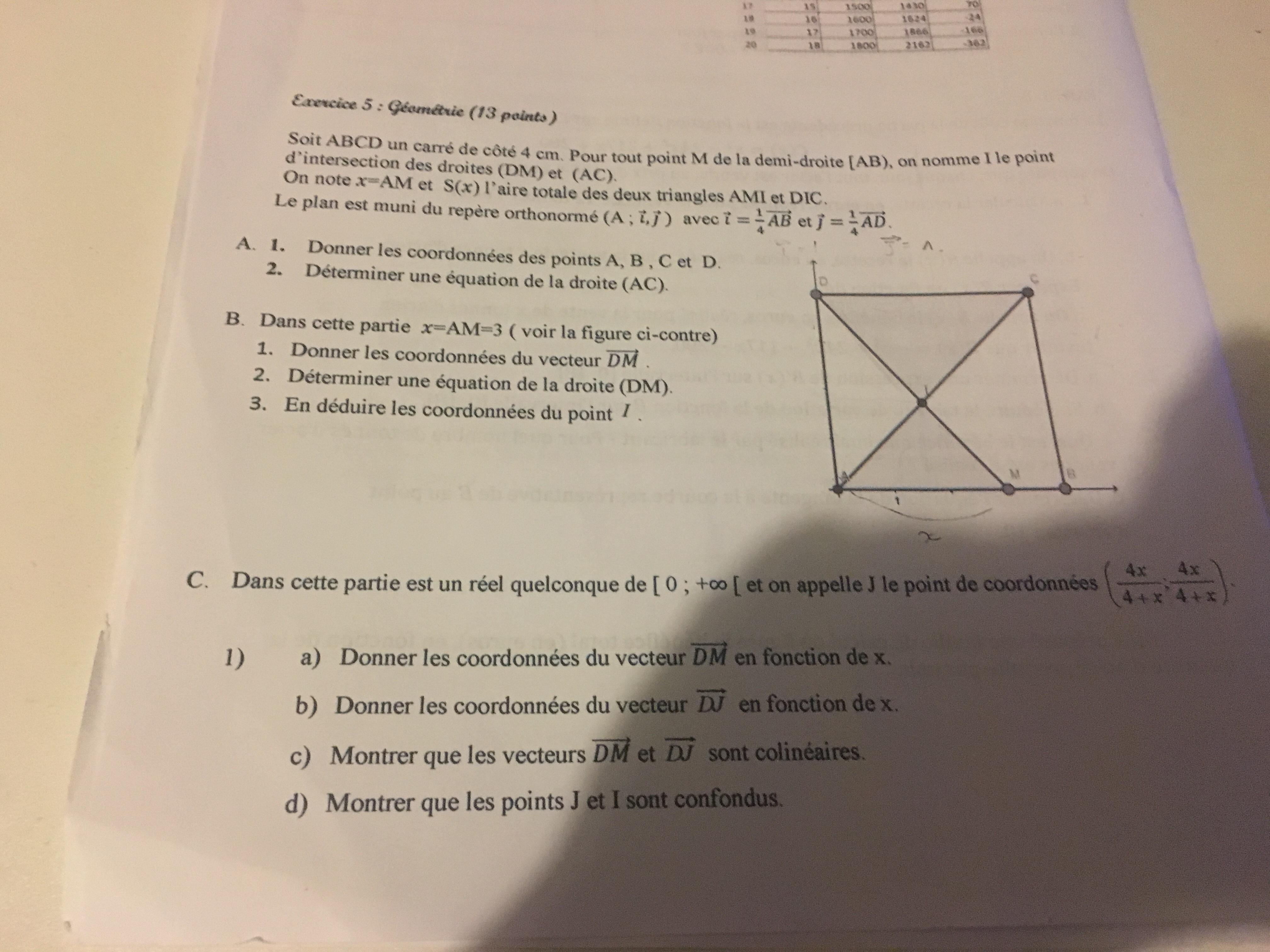 Bonjour A Tous Je Suis Actuellement En Classe De 1ere S Et J Ai Du Mal A Repondre Aux Questions De Nosdevoirs Fr