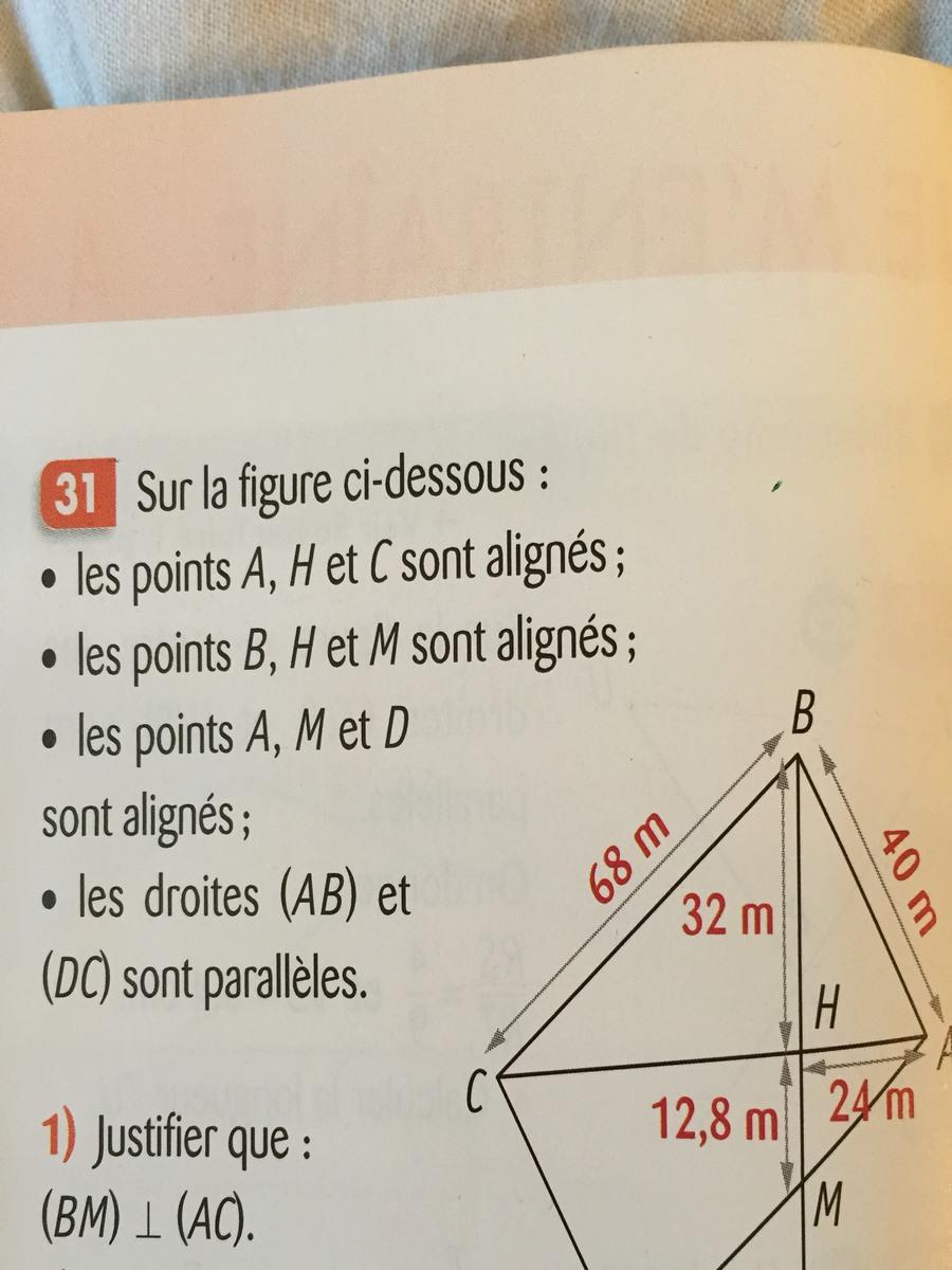 Aidez moi svp Dans une classe de 4ème - Nosdevoirs.fr