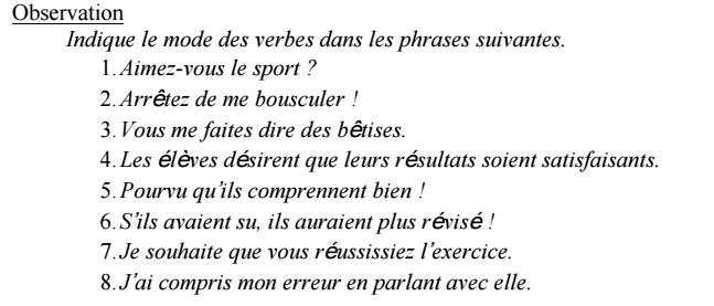 Nos devoirs.fr francais