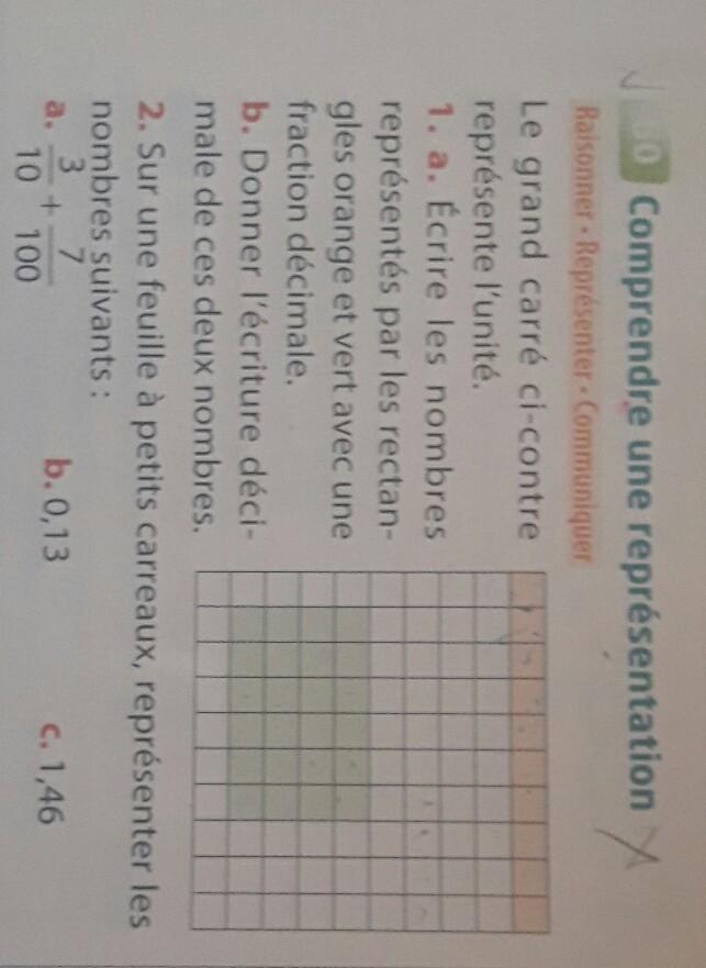 exercice 5 e svp aider moi exercice de maths 5e ...