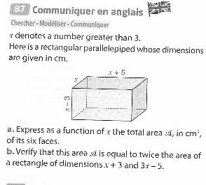 Bonjour A Tous J Ai Un Exercice De Maths A Rendre Pour La Rentree J Ai Une Petite Idee De Ce Qu Il Nosdevoirs Fr