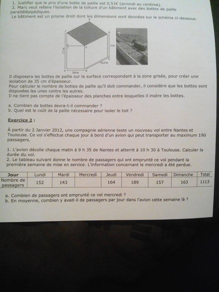 Mathematique 3Eme Devoir Maison – Ventana Blog