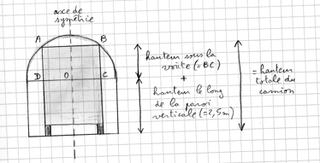 Svp aidez moi sur le theoreme de pythagore un tunnel for Calcul metre carre d une piece