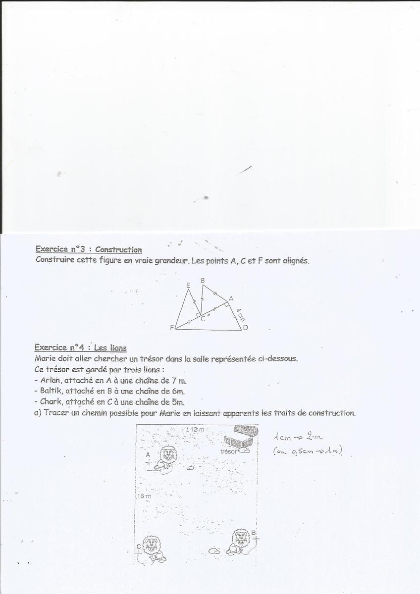 bonjour j\'ai besoin d\'aide pour 2 exercices de maths. merci pour ...