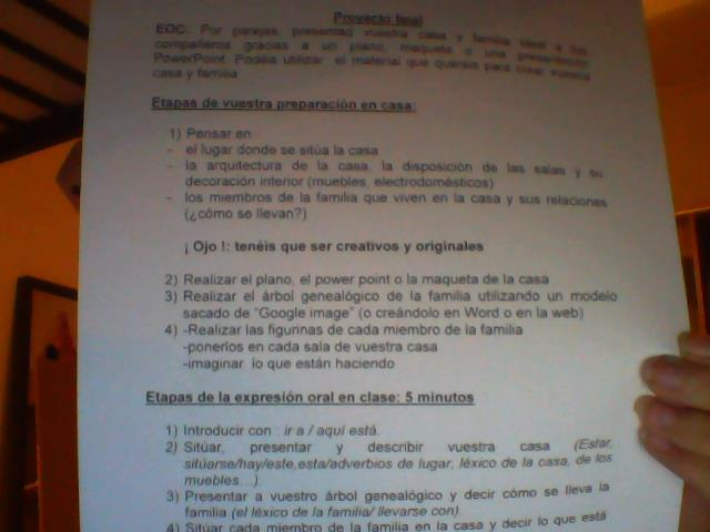 aider moi pour demain je dois faire le proyecto final en espagnol il faut dire ca maison. Black Bedroom Furniture Sets. Home Design Ideas