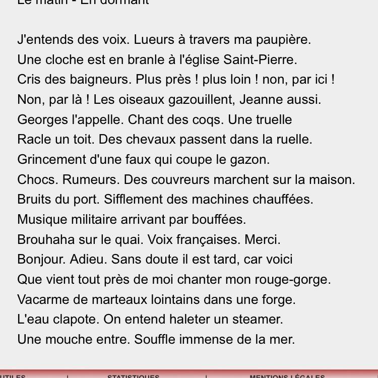 Bonsoir Dans Le Poeme De Victor Hugo Fenetres Ouvertes Qui Peut