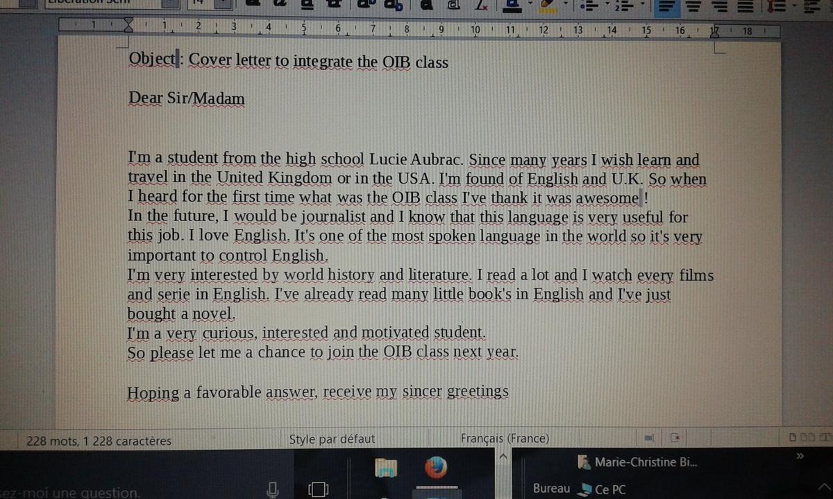 J'aimerais te rencontrer en anglais