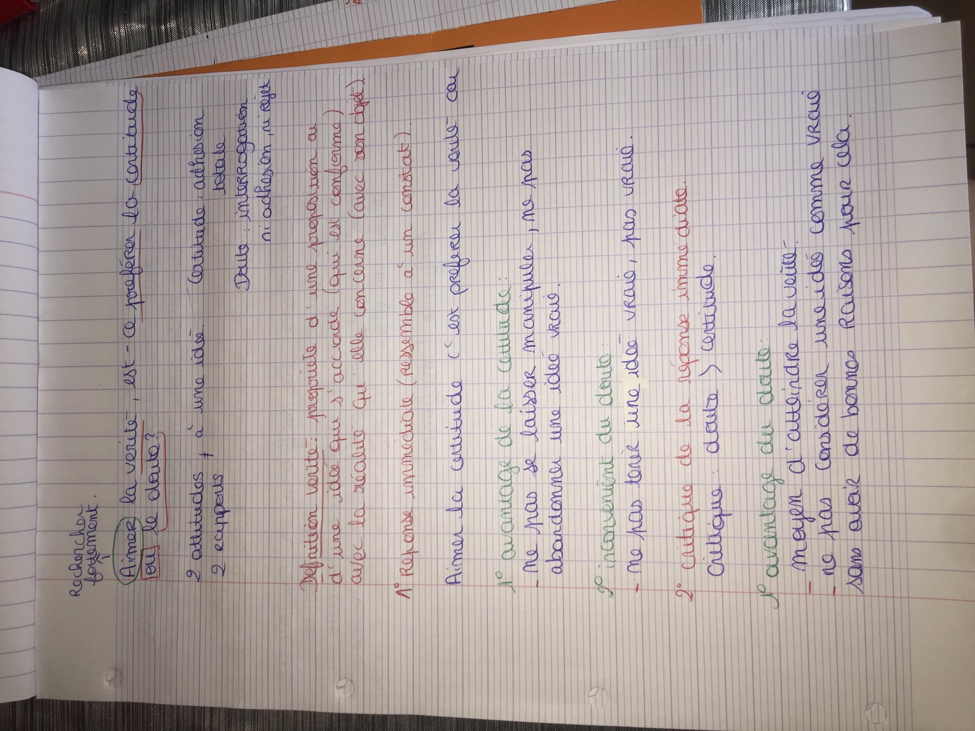 Exemple de rédaction d'une sous-partie - Littérature française Paris 8 - Pauline Galli