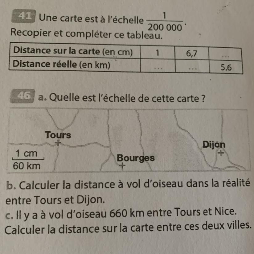 Calculer La Distance Réelle Sur Une Carte