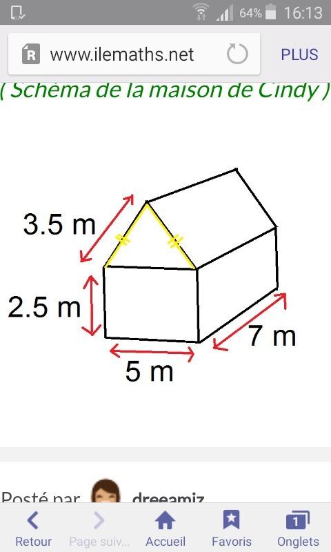 cc vous pouvez m 39 aider svp alors voil ma question la petite maison de cindy est repr sent e. Black Bedroom Furniture Sets. Home Design Ideas