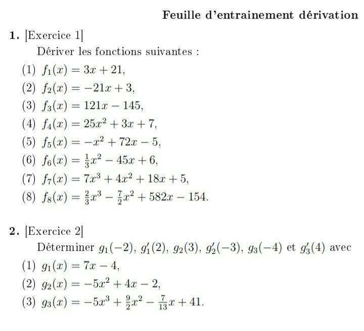 Bonjour Pouvez Vous M Aider A Mon Dm De Maths Svp Nosdevoirs Fr