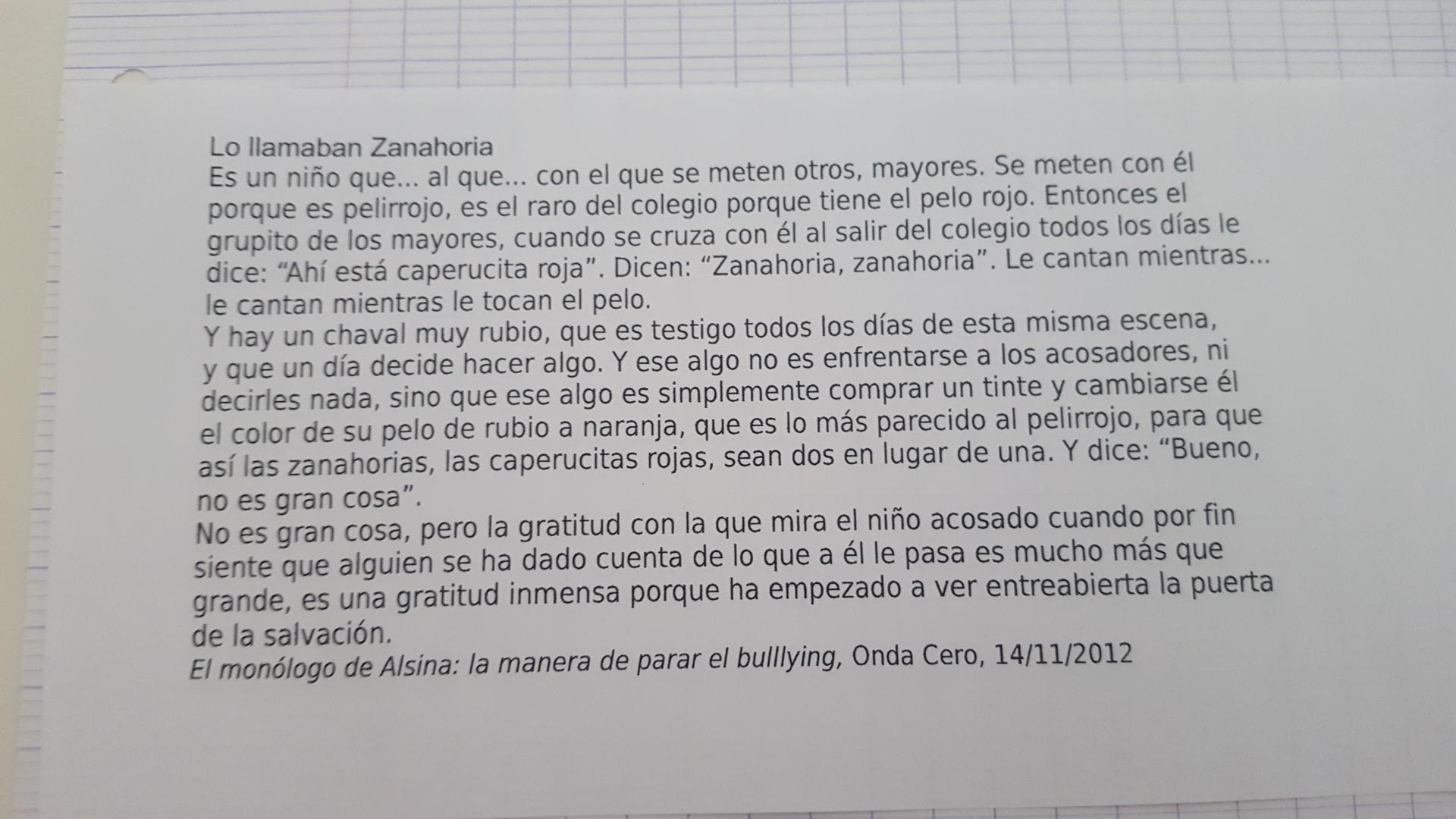 Bonjour Texte à Faire En Espagnol Il Faut Faire 10 Lignes