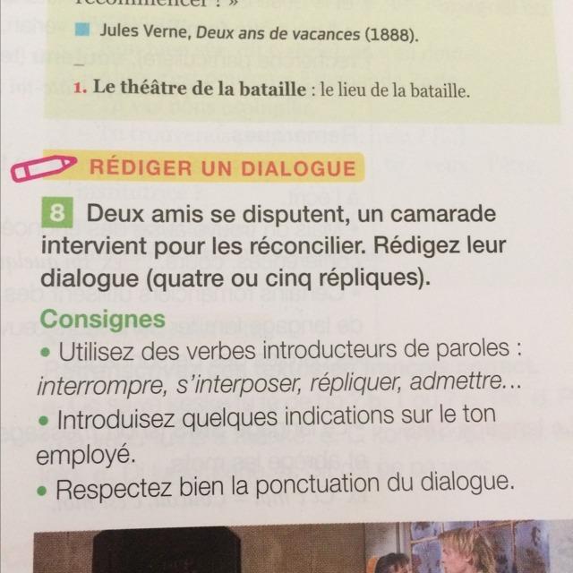 Une nouvelle façon de faire ses devoirs. ... Français; 5 pts; il y a 38 sec ...  Bonjours à tous pouvez vous m'aider à ce devoir sur l'explication de la couleur d' une...