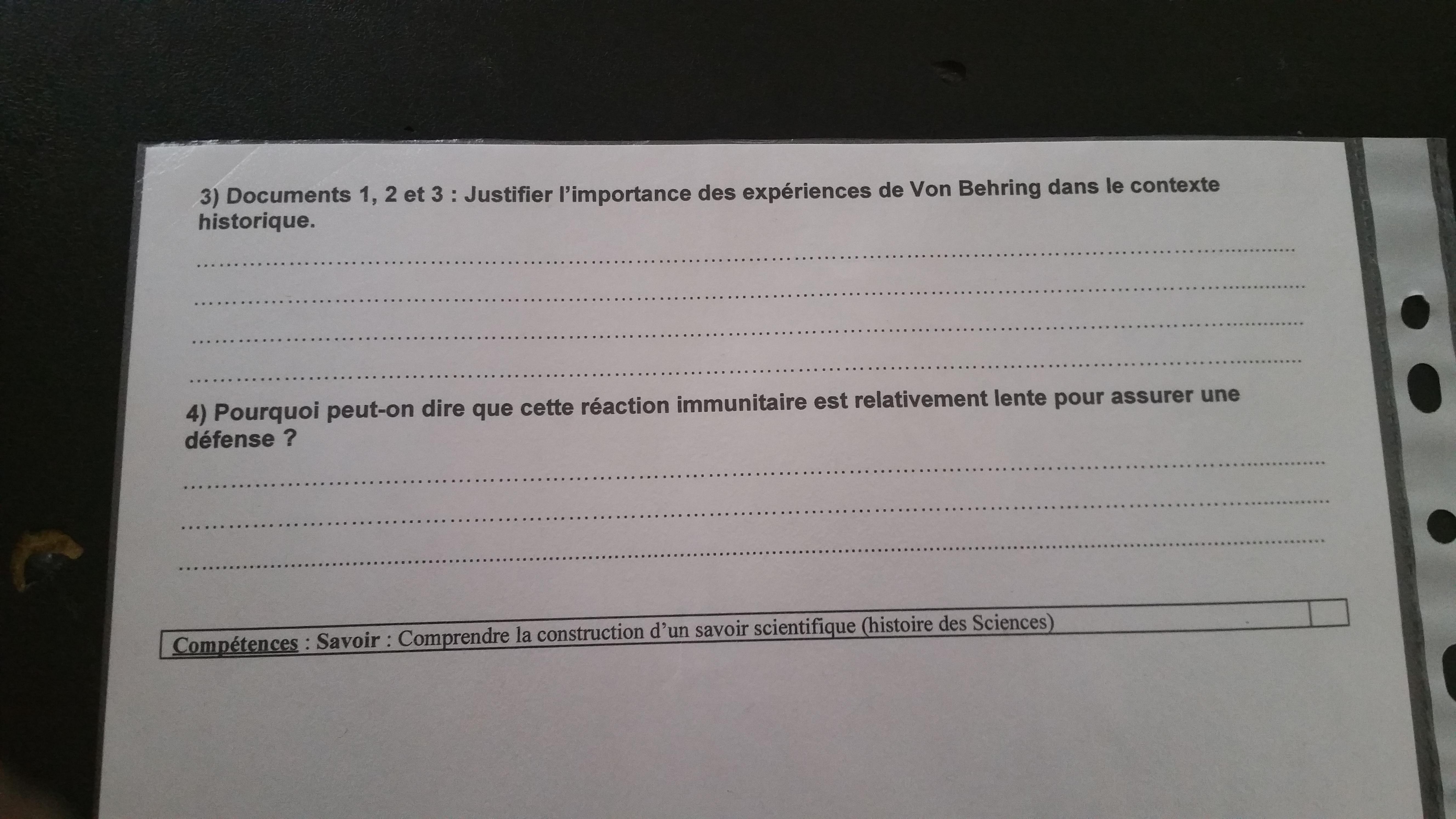 DÉFENSES 3ÈME TÉLÉCHARGER IMMUNITAIRES