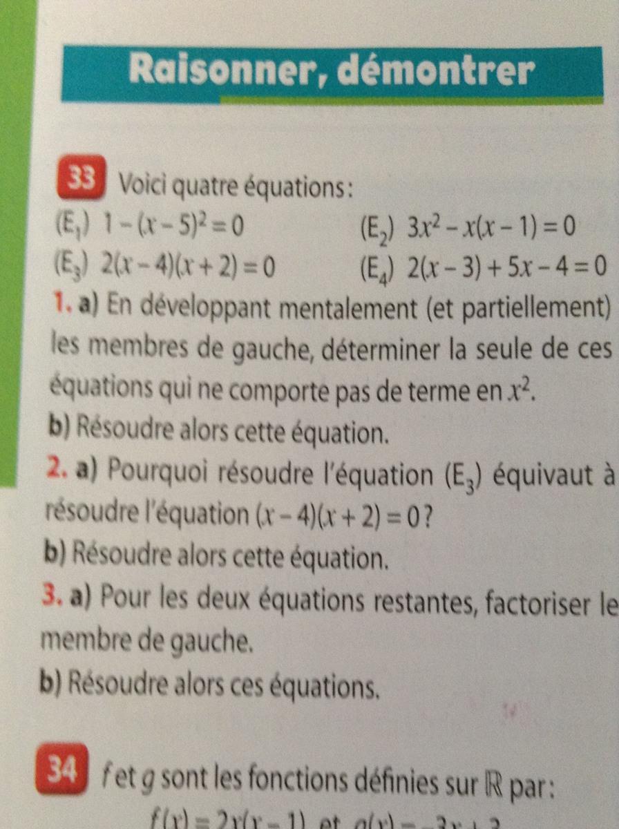 J Aurais Besoin D Aide Pour Cet Exo Le 33 P 50 Du Livre Hyperbole Math Seconde Edition Nathan 2010 Nosdevoirs Fr