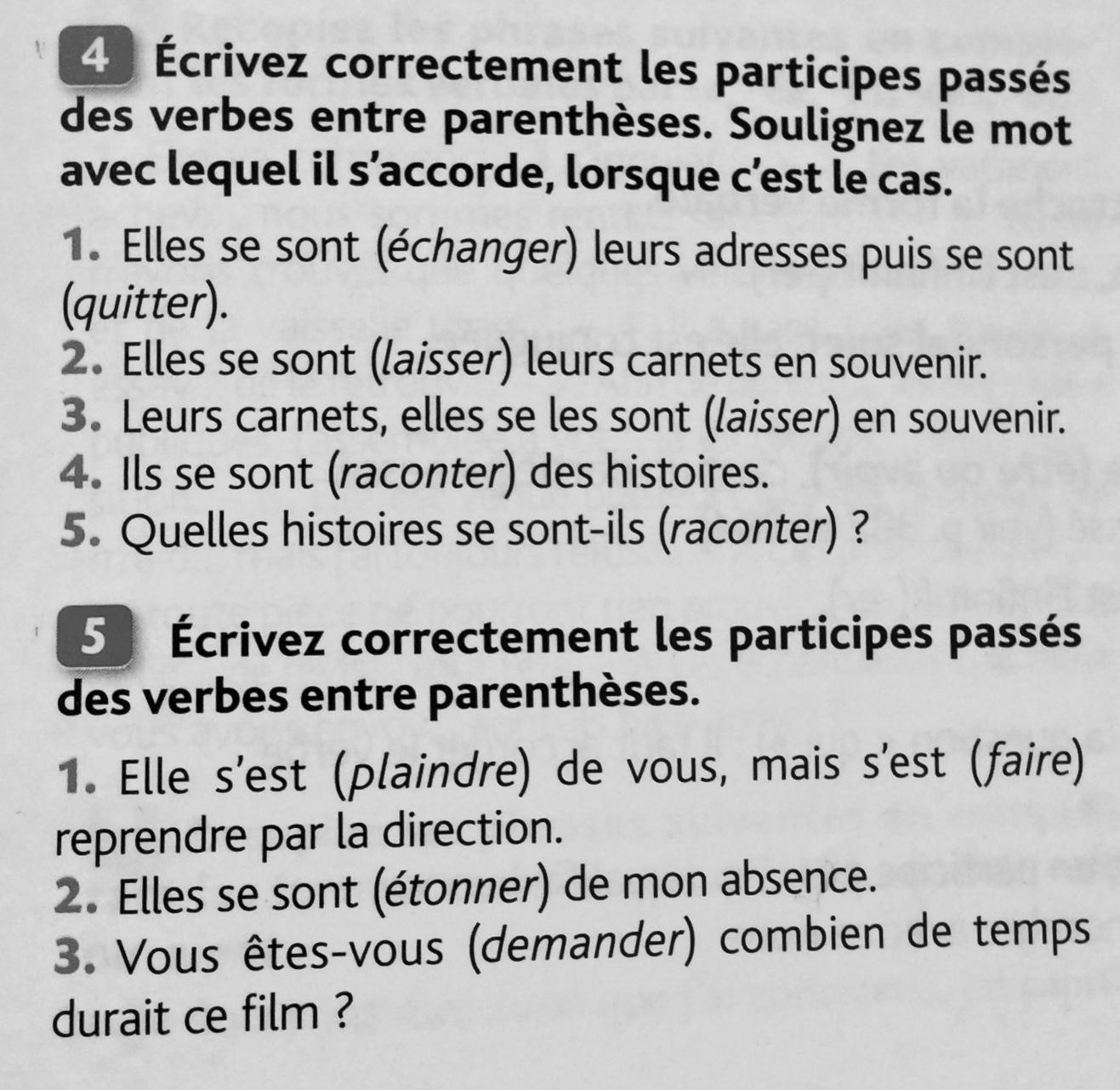 Bonsoir A Tous J Aurais Vraiment Besoin D Aide Pour Ces 3 Exercices De Francais Voir Les 2 Pieces Nosdevoirs Fr