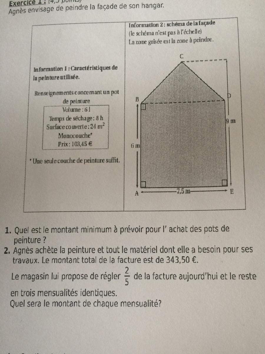 dm de 3 eme quelqu'un pourrait m'aider svp - nosdevoirs.fr