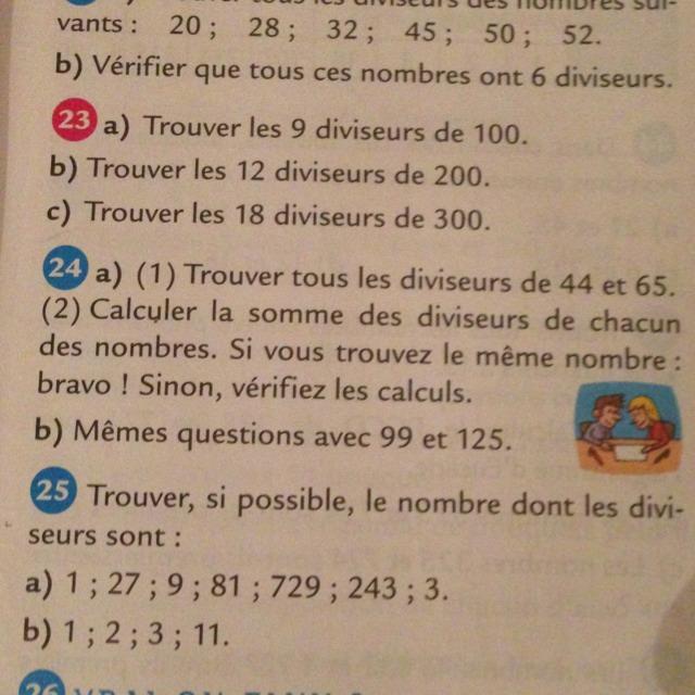 Exercice 24 a 1 trouve tous les diviseurs de 44 et 65 for Calculer le nombre de parpaing