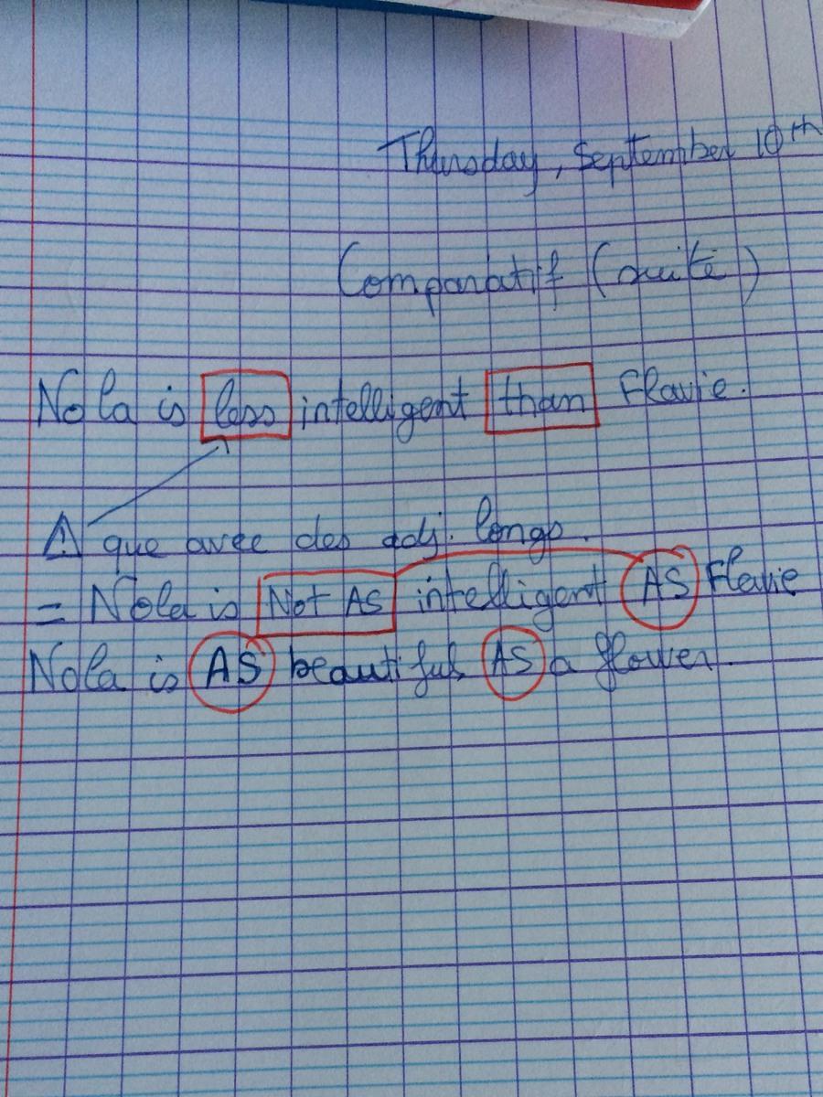 Exemple De Phrase Avec A Et à - Le Meilleur Exemple