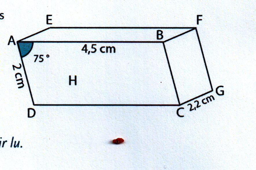 Hey comment faire la perspective cavali re d 39 un prisme droit base parall logramme merci - Comment faire un coup droit ...