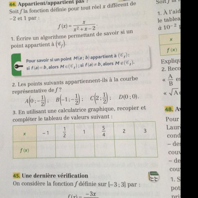 Petit exercice de Math Aidez moi Svp 3ème Mathématiques