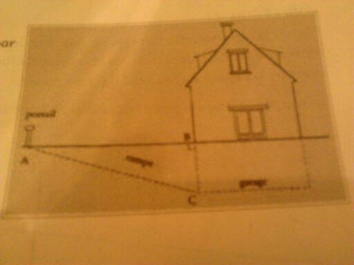 on acc de au garage situ au sous sol d 39 une maison par une rampe ac on sait que ac 10 25m. Black Bedroom Furniture Sets. Home Design Ideas