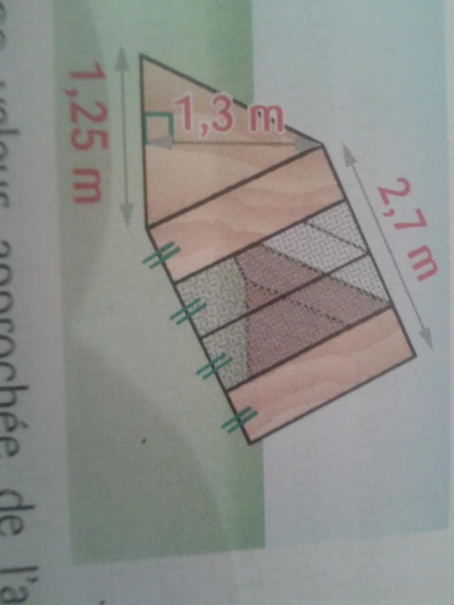 1calculer une valeur approche de laire de la surface a peindre 2un pot de peinture couvre 25m2 de lambriscombien de pots doit on acheter merci d - Calcul D Une Surface A Peindre