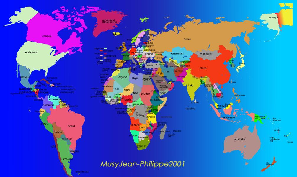 j 39 aimerai savoir c 39 est quoi la carte politique du monde m tropole tats pouvez vous me. Black Bedroom Furniture Sets. Home Design Ideas